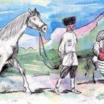 Осёл и лошадь - Лев Толстой