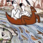 Отчего лосось заходит в воды индейцев Племени Сквомишей (индейская сквомиши) - Сказка народов Америки