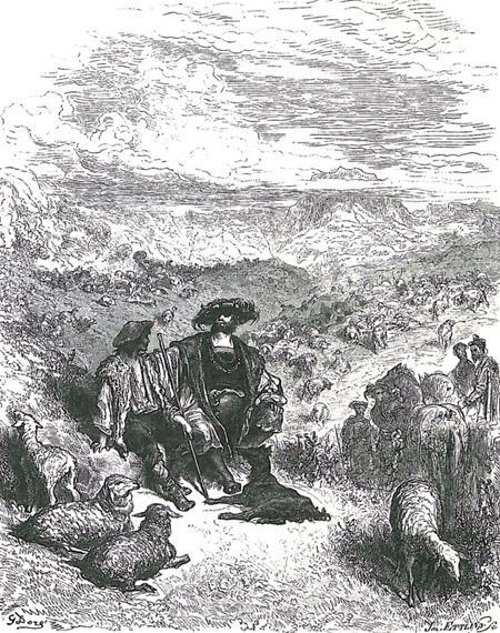 Пастух и король