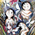 Первые бабочки (индейская папаго) - Сказка народов Америки
