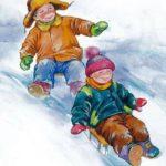 Первый снег - Валентина Осеева