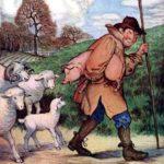 Поросенок и овцы - Эзоп