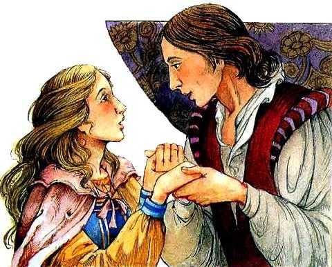 девушка Принцесса и принц