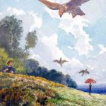 Птицелов и жаворонок - Эзоп