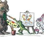 Разноцветные зверята - Михаил Пляцковский