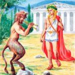 Сатир Марсий и Аполлон - Мифы Древней Греции