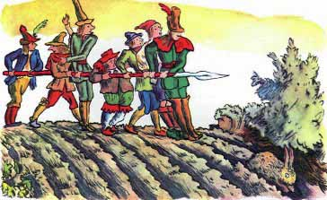 семеро братьев с одним копьем