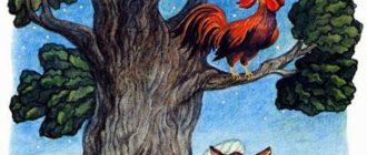 Шакал и Петух - Арабская сказка