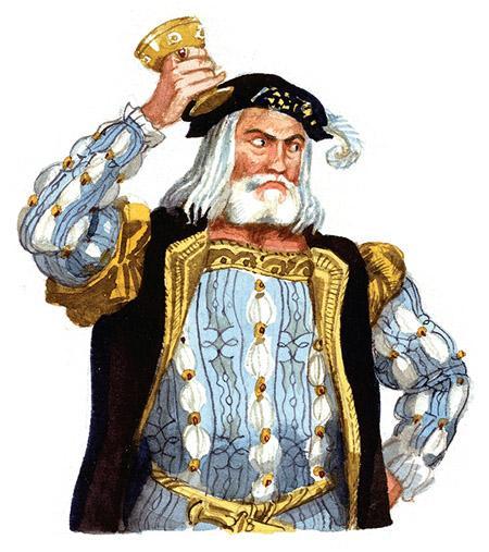 старый князь и сильно разгневался