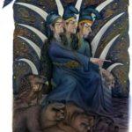 Сказка о пятнадцатом сыне – друге льва и орла - Ингушская сказка