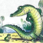 Сказка о знаменитом крокодиле и лягушонке - Михаил Пляцковский
