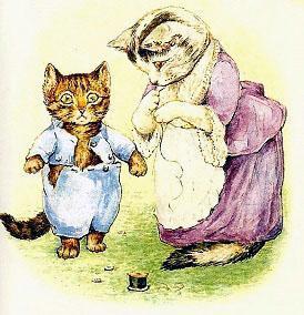 Сказка про котенка Тома