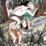 Слепой да хромой (индейская хопи) - Сказка народов Америки