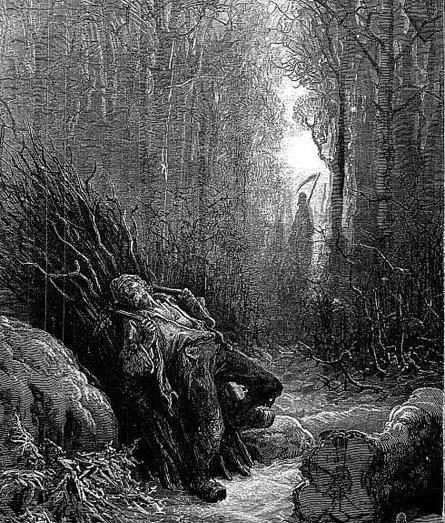 Смерть и лесоруб
