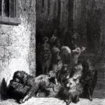 Собака с хозяйским обедом - Жан де Лафонтен