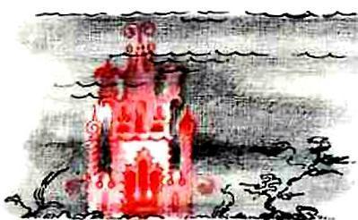 дворец под водой