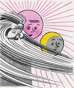 луна солнце ветер