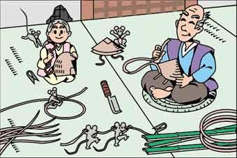 мыши принесли старику и старухе солому