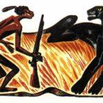 Спор Пантеры с Человеком - Африканская сказка