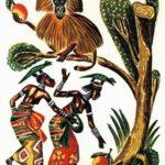 Сватовство к принцессам-ящерицам - Африканская сказка