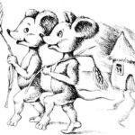 Титти-мышка и Тэтти-мышка - Английская сказка