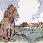 Три быка и лев - Эзоп