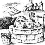 Три головы в колодце - Английская сказка
