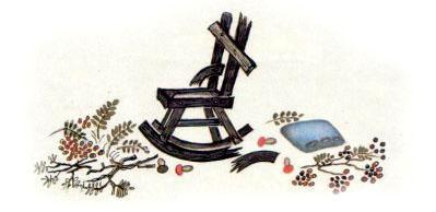 поломаный стул Мишутки