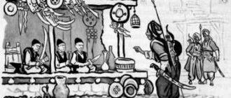 Трое плешивых - Курдская сказка