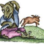 Удачливый волк - Испанская сказка