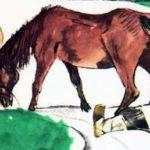 Упрямая лошадь (Как мужик лошадь переупрямил) - Лев Толстой