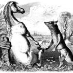 Волк и конь - Жан де Лафонтен