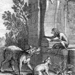 Волк и лиса перед судом обезьяны - Эзоп
