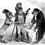 Волк и лисица на суде перед обезьяной - Жан де Лафонтен