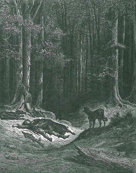 Волк и охотник