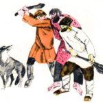 Волк и охотники - Лев Толстой