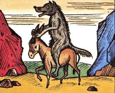 Волк и осел