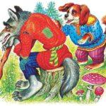 Волк и собака - Константин Ушинский