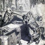 Волк и журавль - Лев Толстой