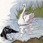Ворон и лебедь - Эзоп