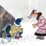 Ворон и лиса - Эскимосская сказка