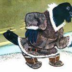 Ворон и лиса Нутэнэут - Чукотская сказка