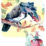 Ворон и лисица - Лев Толстой