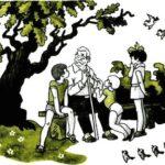 Восемь волшебных желудей - Отечественные писатели