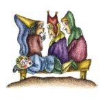 Яблоко и кожура - Итальянская сказка