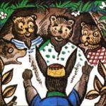 Заяц и медведица - Албанская сказка