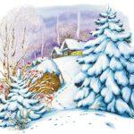 Зима - Константин Ушинский