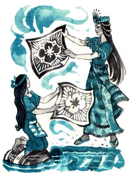 Волшебница помогает Абадехе