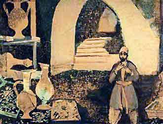 Али-Баба вошел в пещеру сокровища разбойников