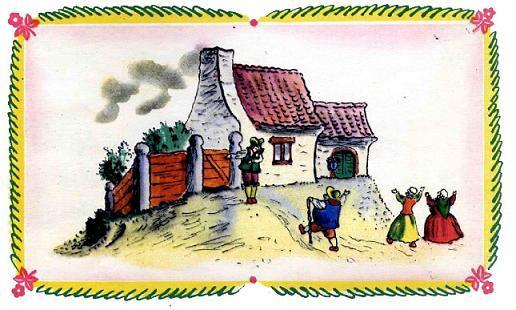 Английские песенки: Дом, который построил Джек